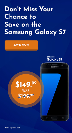 Samsung Galaxy S7 for $149.99